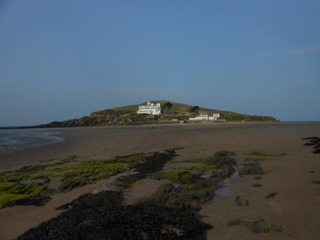 Burgh Island with Art Deco Hotel