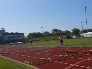 70m hurdles