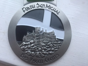 Love this medal, Cornish flag and St Michaels Mount